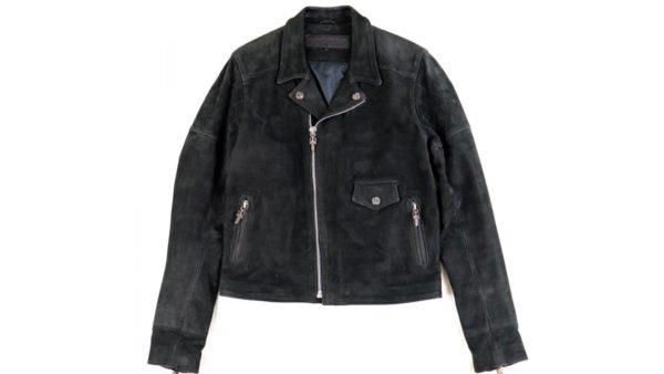クロムハーツ クリティンレザー ライダースジャケットを高価買取いたしました。
