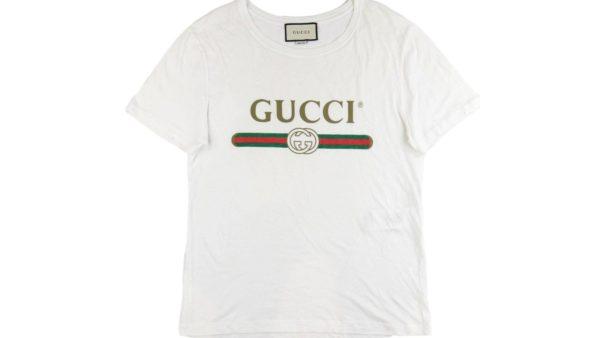 グッチ ヴィンテージロゴTシャツを店頭にて高価買取いたしました。