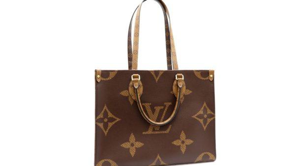 ルイヴィトンのバッグ「オンザゴーMM 45321」を高価買取いたしました。